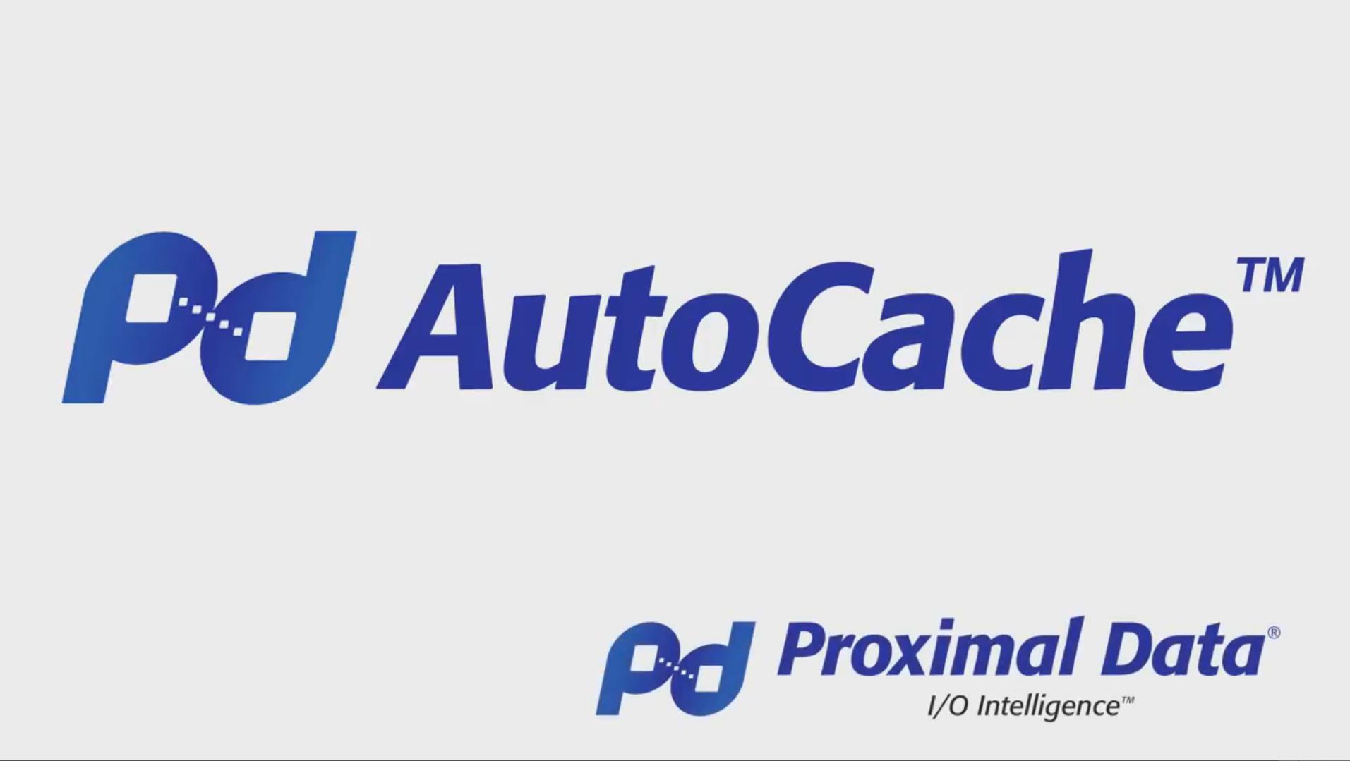 Proximal Data - AutoCache HyperV Installation